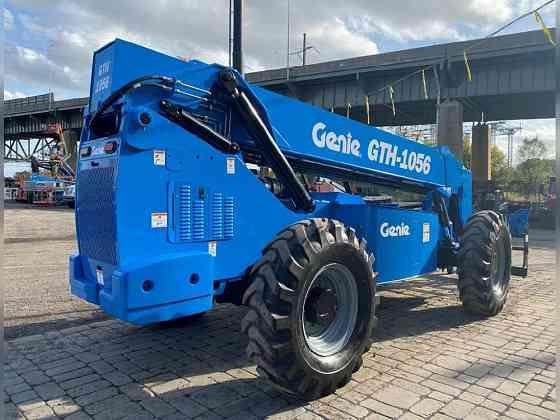 USED 2014 Genie GTH-1056 Telehandler Bristol, Pennsylvania