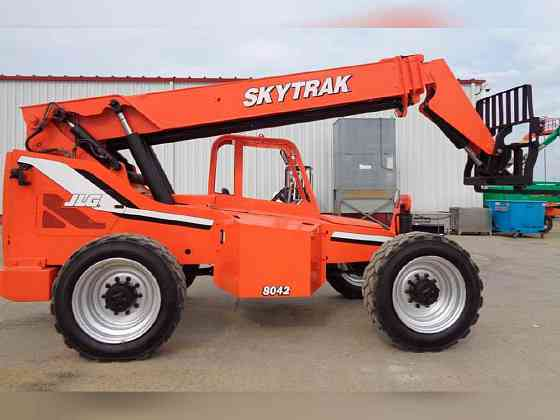 USED 2012 Skytrak 8042 Telehandler Bristol, Pennsylvania