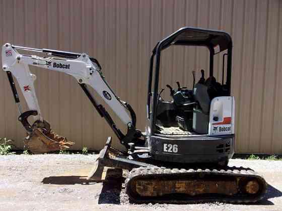 USED 2017 BOBCAT E26 Excavator Chattanooga