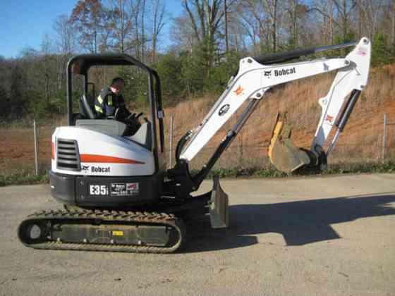 USED 2014 BOBCAT E35i Excavator Chattanooga