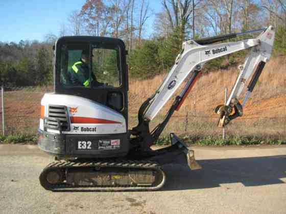 USED 2012 BOBCAT E32 Excavator Chattanooga
