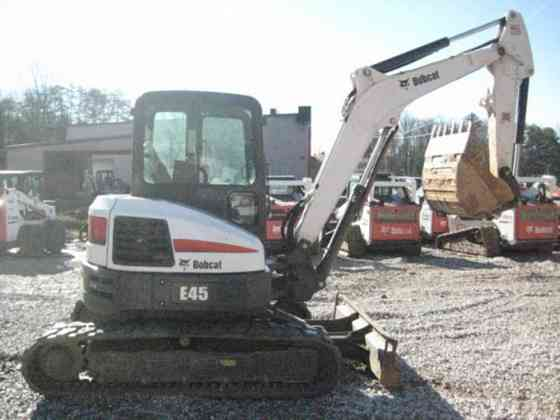 USED 2016 BOBCAT E45 Excavator Chattanooga