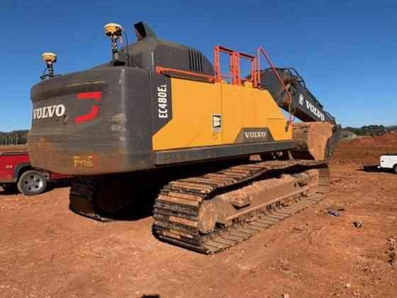 USED 2019 VOLVO EC480EL Excavator Jackson, Tennessee