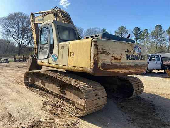 USED 1995 KOMATSU PC200 LC-6L Excavator Jackson, Tennessee