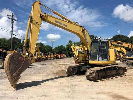 USED 2003 KOMATSU PC228US LC-2 Excavator Jackson, Tennessee