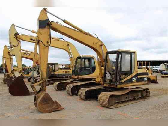 USED 1995 CATERPILLAR 312 Excavator Jackson, Tennessee