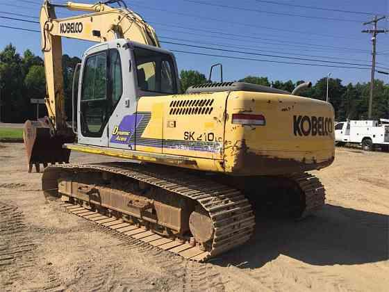 USED 2005 KOBELCO SK210 LC DYNAMIC ACERA Excavator Jackson, Tennessee