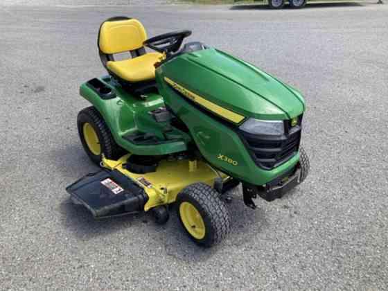 USED 2016 John Deere X380 Tractor Dyersburg