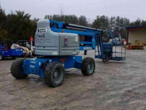 USED 2011 Genie Z-60/34 Boom Lift La Vergne