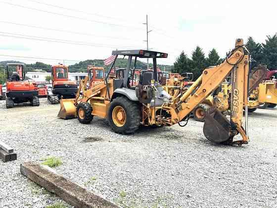 USED 2002 CASE 580SL II Backhoe Johnson City, Tennessee