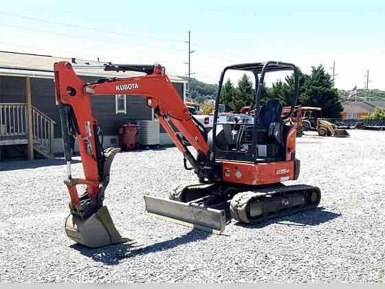 USED 2018 KUBOTA U35-4 Excavator Johnson City, Tennessee