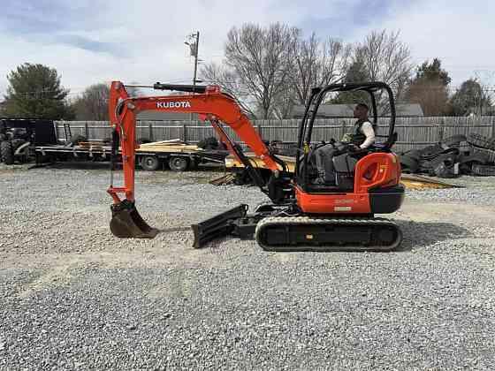 USED 2018 KUBOTA KX040-4 Excavator Johnson City, Tennessee