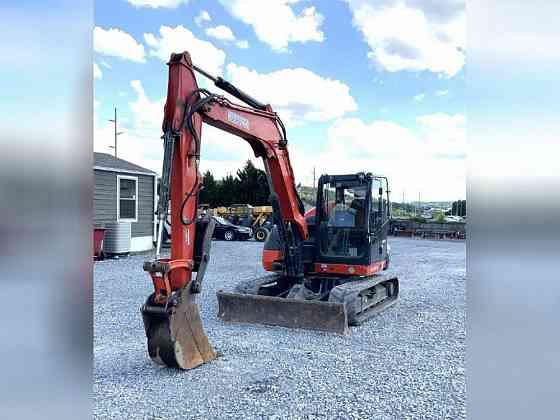 USED 2017 KUBOTA KX080-4 Excavator Johnson City, Tennessee