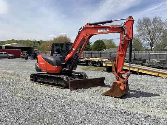 USED 2016 KUBOTA KX080-4 Excavator Johnson City, Tennessee