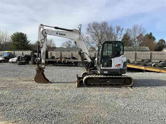 USED 2012 BOBCAT E80 Excavator Johnson City, Tennessee