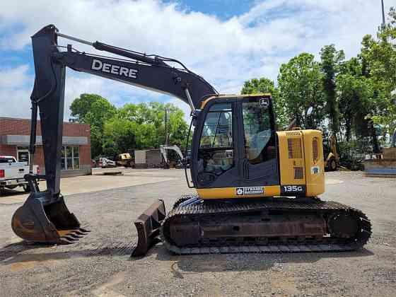USED 2014 DEERE 135G Excavator Jackson, Tennessee