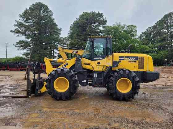 USED 2016 KOMATSU WA320-7 Wheel Loader Jackson, Tennessee