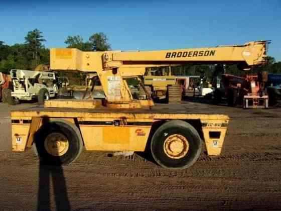 USED 2007 BRODERSON IC80-2G Crane Livingston