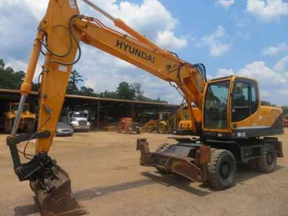USED 2014 HYUNDAI ROBEX 210W-9 Excavator Livingston