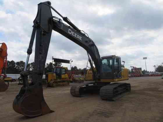 USED 2016 DEERE 210G Excavator Livingston