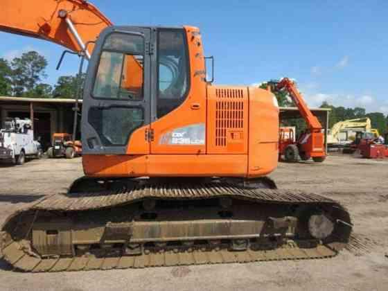 USED 2016 DOOSAN DX235 LCR Excavator Livingston