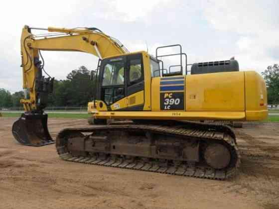 USED 2014 KOMATSU PC390 LC-10 Excavator Livingston