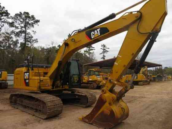 USED 2016 CAT 326FL Excavator Livingston