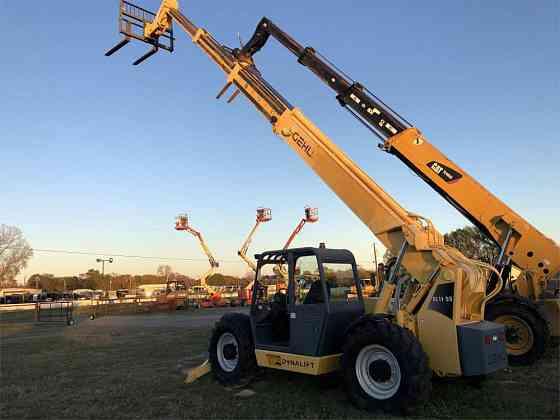 USED 2008 GEHL DL11-55 Telehandler Dallas