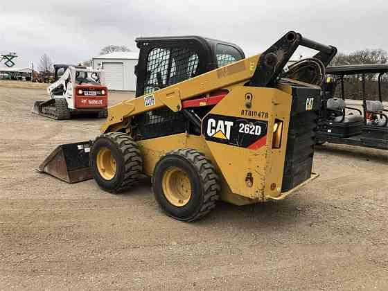 USED 2017 CATERPILLAR 262D Skid Steer Dallas