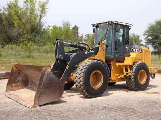 USED 2012 DEERE 624K Wheel Loader Weatherford