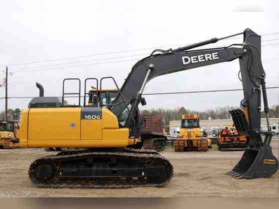 USED 2019 DEERE 160G LC Excavator Weatherford