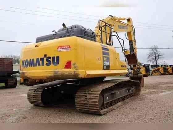 USED 2017 KOMATSU PC210 LC-11 Excavator Weatherford