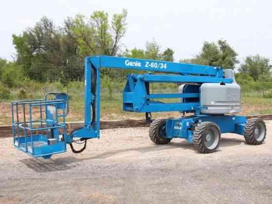 USED 2013 GENIE Z60/34 Boom Lift Weatherford