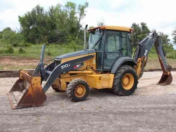 USED 2011 DEERE 310J Backhoe Weatherford