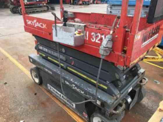 USED 2013 Skyjack SJIII 3219 Scissor Lift Houston