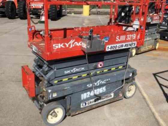 USED 2014 Skyjack SJIII 3219 Scissor Lift Houston