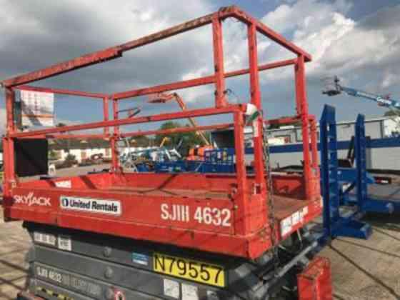 USED 2013 Skyjack SJIII 4632 Scissor Lift Houston