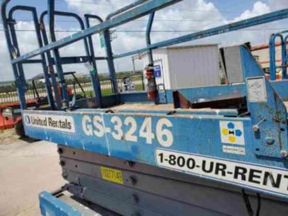 USED 2014 Genie GS-3246 Scissor Lift Houston