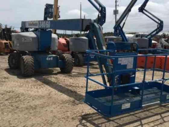 USED 2012 Genie Z-80/60 Articulating Boom Houston