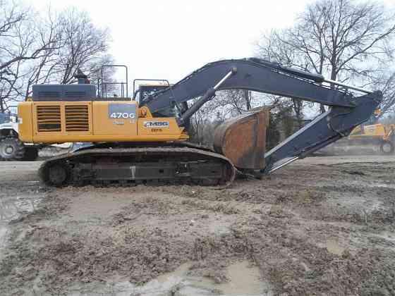 USED 2011 DEERE 470G LC Excavator Carrollton, Texas