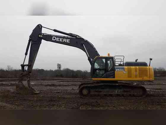 USED 2015 DEERE 350G LC Excavator Carrollton, Texas