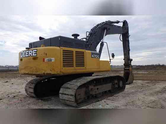 USED 2014 DEERE 470G LC Excavator Carrollton, Texas