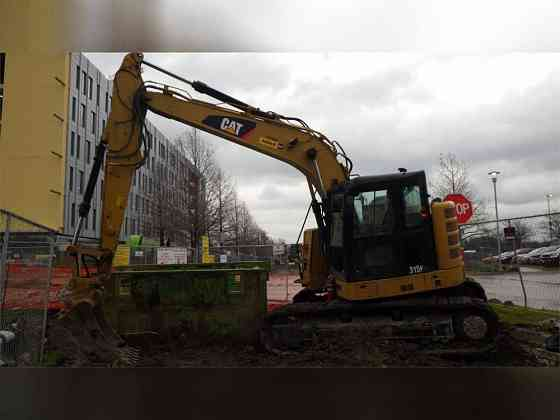 USED 2017 CATERPILLAR 315FL Excavator Carrollton, Texas