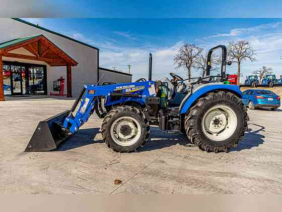 USED 2020 New Holland Workmaster Utility 75 Tractor Weatherford
