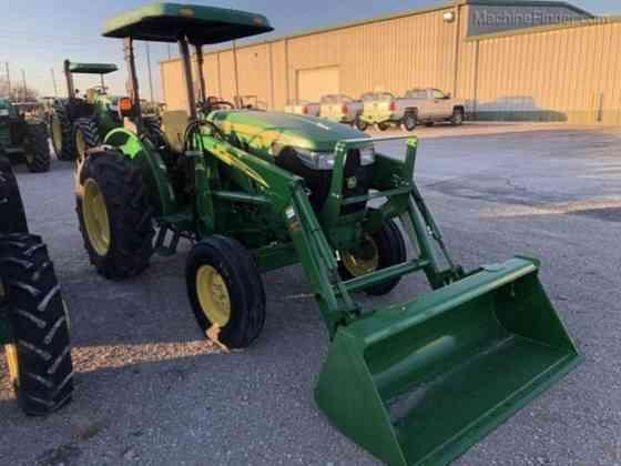 USED 2015 JOHN DEERE 5055E Tractor Waco