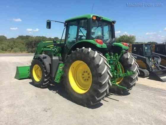 USED 2014 6140M John Deere FARM TRACTOR Waco