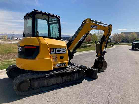 USED 2016 JCB 55Z-1 Excavator West Valley City
