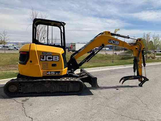 USED 2016 JCB 45Z-1 Excavator West Valley City