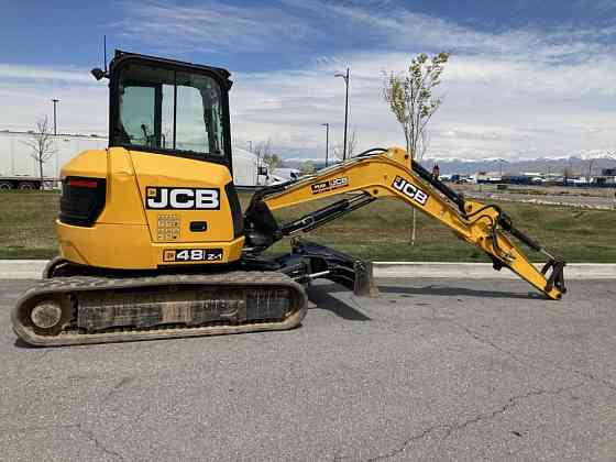 USED 2016 JCB 48Z-1 Excavator West Valley City