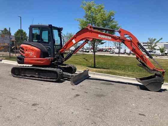 USED 2017 Kubota KX057-4 Excavator West Valley City